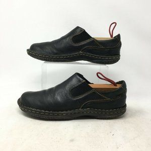 Born Slip On Loafers Comfort Shoes Stitched Leathe